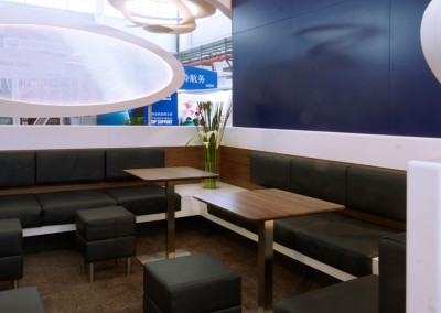 Lufthansa Technik AG, VIP & Executive Jet Solutions – Messestand International, 72 m²