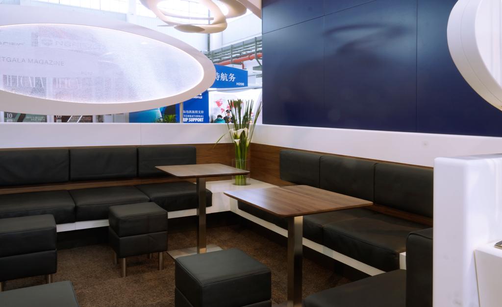 Lufthansa Technik AG, VIP & Special Mission Aircraft Services – Messestand International, 72 m²