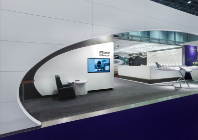 Lufthansa Technik AG, VIP & Special Mission Aircraft Services – International Exhibition Stand