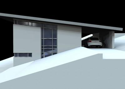 Wohnhaus G., Privatkunde – Architektur Wochenendhaus