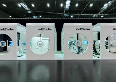 Mall Herlan GmbH – Messekonzept 336 qm