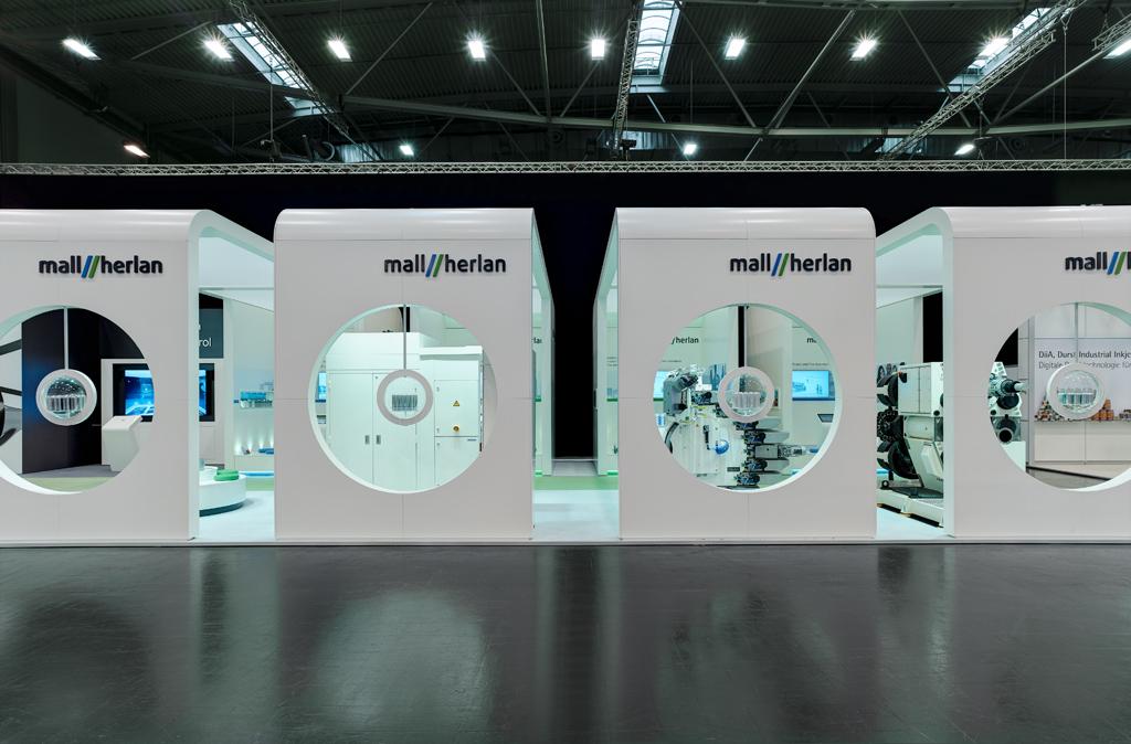 Mall Herlan GmbH – Exhibition Concept 336 m²