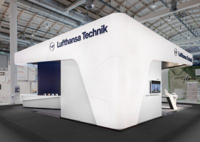 Lufthansa Technik AG, – International Exhibition Stand