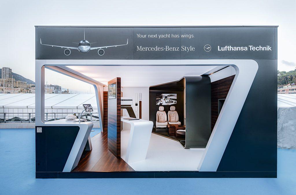 Lufthansa Technik AG und Mercedes-Benz Style – Design Pavillon